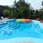 Открытый бассейн на даче своими руками