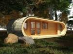 Деревянный домик Eco Perch